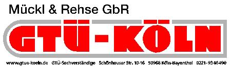Logo GTUE KOELN