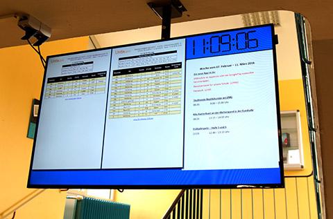 Das Digitale Schwarze Brett der Friedrich-Ebert- Schule in Hürth