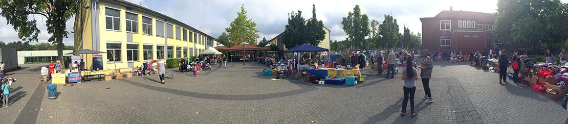 Schulflohmarkt Freidrich-Ebert-Schule Hürth 09-2016