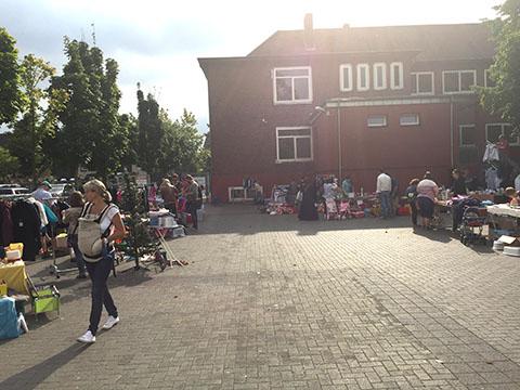Schulflohmarkt Friedrich-Ebert-Schule Hürth 09-2016