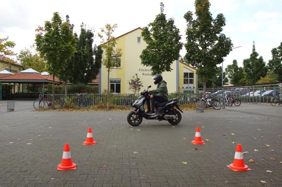 Mofa AG an der Friedrich-Ebert-Schule in Hürth