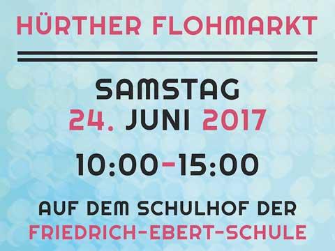 Flohmarkt Friedrich-Ebert-Schule Huerth
