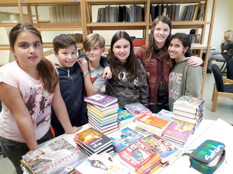 Bücherboxen 2018 für Friedrich-Ebert Schule Hürth