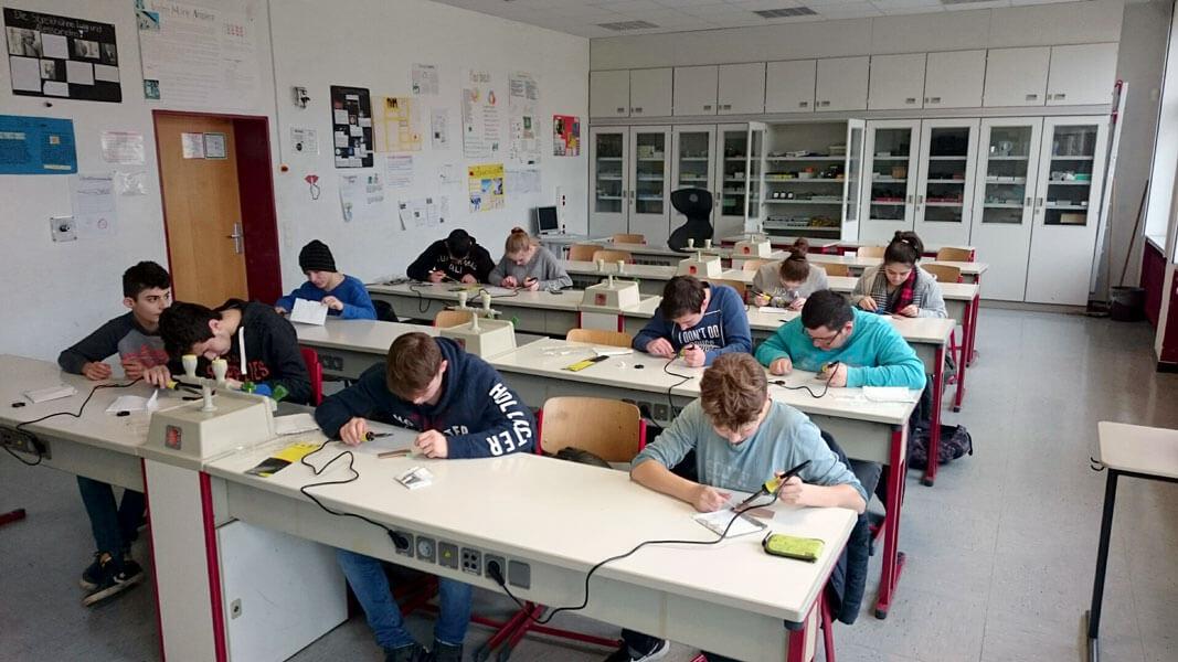 Die Technik-AG der Friedrich-Ebert Schule Hürth