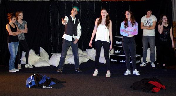 Shakespeare Theaterprojekt Romeo und Julia 2018 an der Friedrich-Ebert-Schule in Hürth