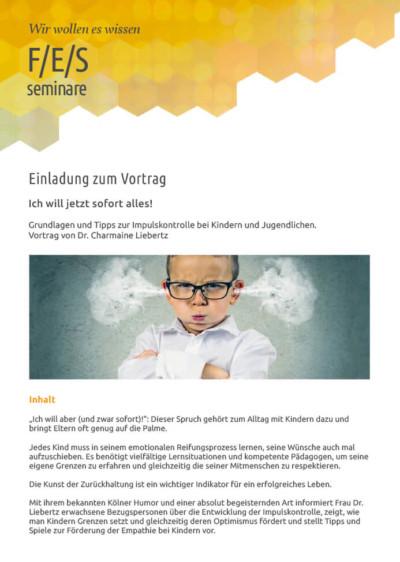 Einladung zum FES Seminar Vortrag Dr. Liebertz 09-2018