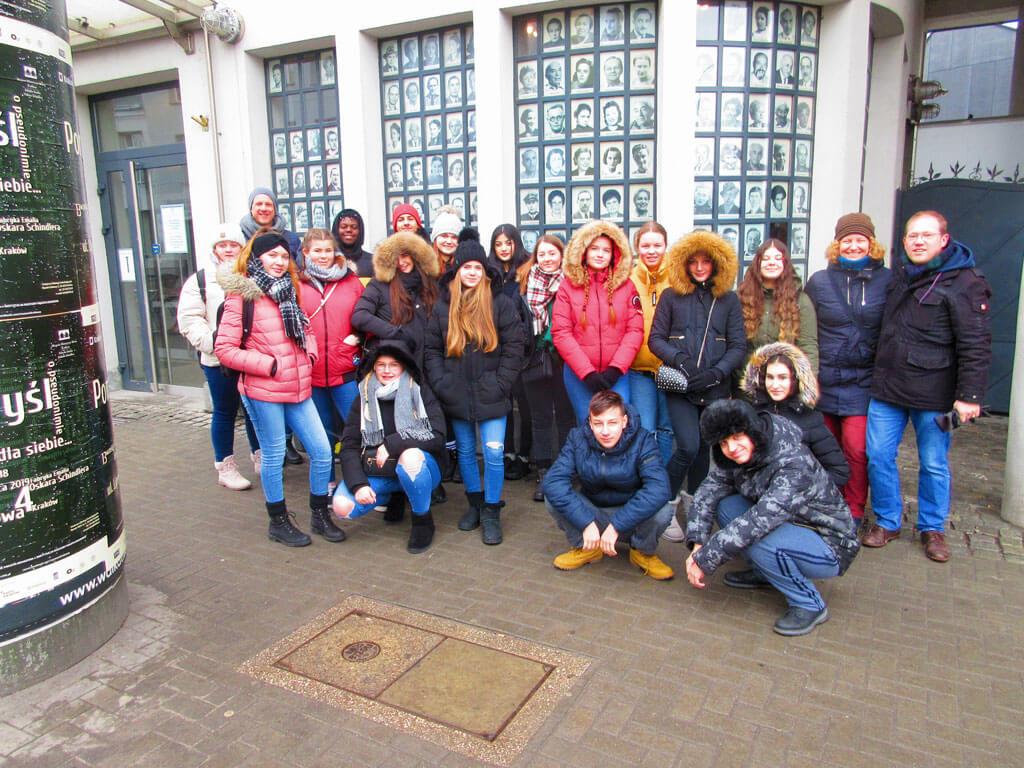 Bildungsreise nach Krakau und Ausschwitz von unserer Friedrich-Ebert-Schule Hürth