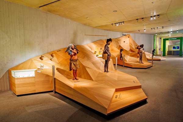 Exkursion der Stufe 6 der Friedrich-Ebert-Schule Hürth ins Neanderthal Museum