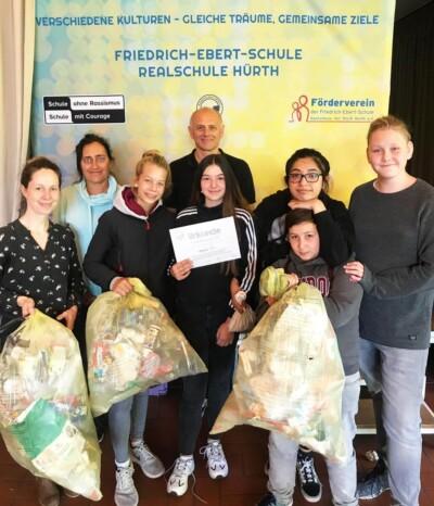 Aktion zur Nachhaltigkeit an der Friedrich-Ebert-Schule Hürth